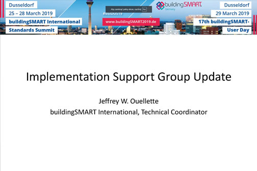 Video: Summary of Implementation Support Group (ISG) at Closing Plenary by JeffreY W. Ouellette