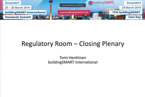 Video: Summary of the Regulatory Room by Tomi Henttinen