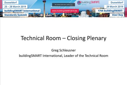 Video: Summary of Technical Room by Greg Schleusner
